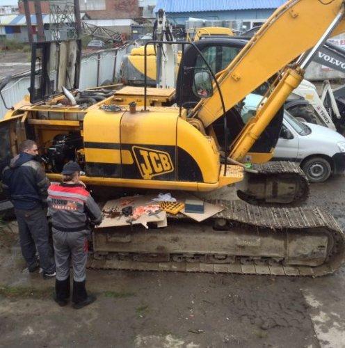 Выездной ремонт экскаваторов